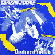 TFR005 Diehard Youth / Flame Still Burns - Split