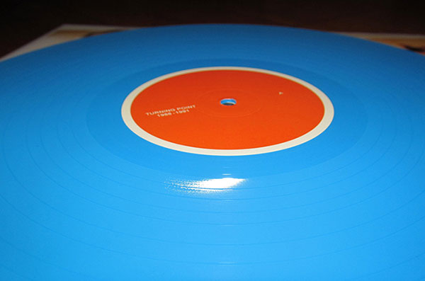 turning point 1988-1991 blue vinyl