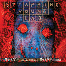 strapping young lad heavy as a really heavy thing cover art
